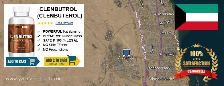 Where to Buy Clenbuterol Steroids online Al Ahmadi, Kuwait