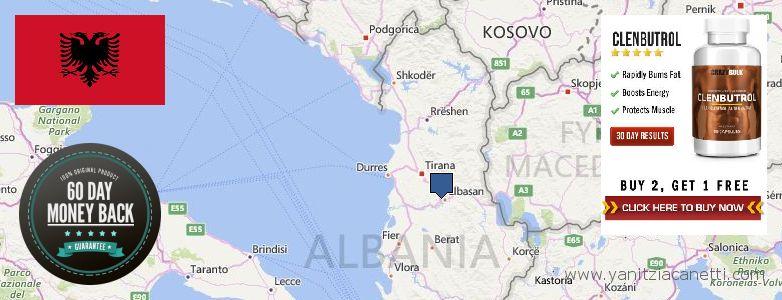 Wo kaufen Clenbuterol Steroids online Albania
