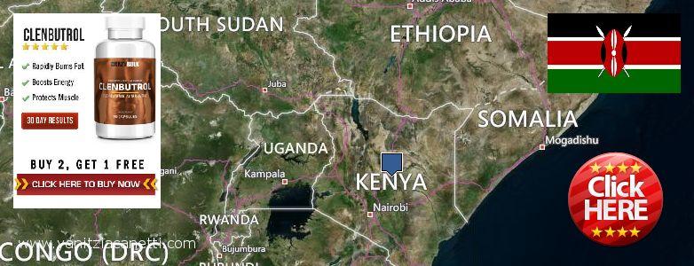 Где купить Clenbuterol Steroids онлайн Kenya