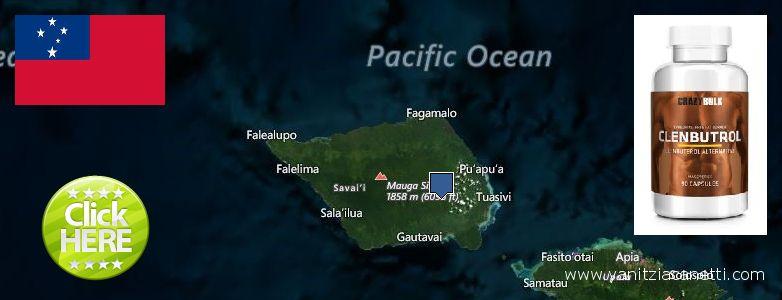 Where to Purchase Clenbuterol Steroids online Samoa