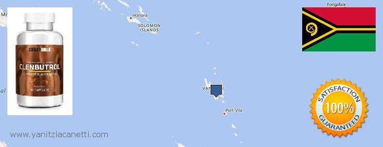 Where to Purchase Clenbuterol Steroids online Vanuatu