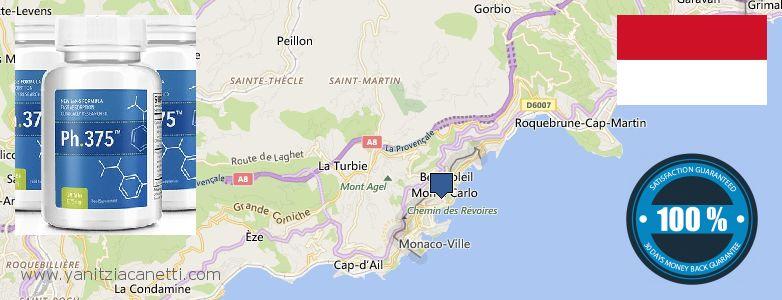 Where to Buy Phen375 Phentermine 37.5 mg Pills online Monaco
