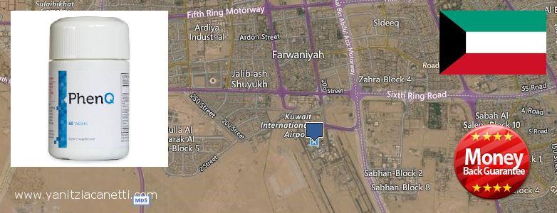 Purchase PhenQ Weight Loss Pills online Al Farwaniyah, Kuwait