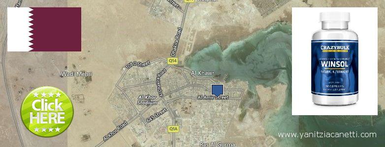 Where to Buy Winstrol Steroids online Al Khawr, Qatar