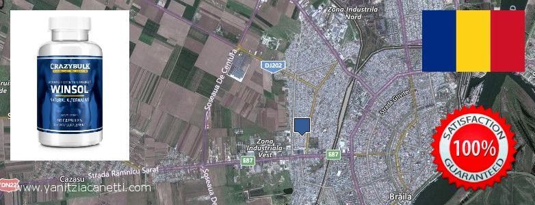 Purchase Winstrol Steroids online Braila, Romania