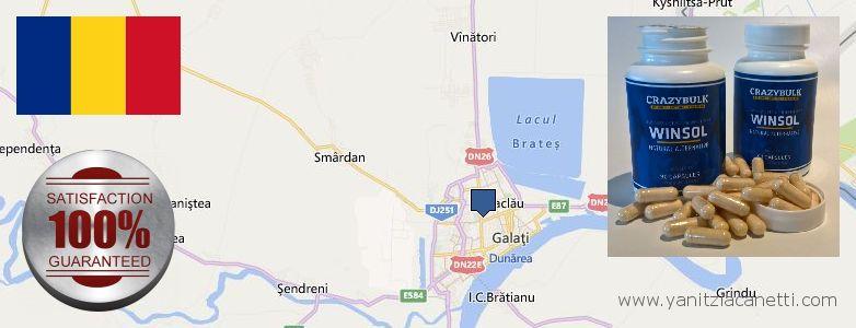 Where to Buy Winstrol Steroids online Galati, Romania