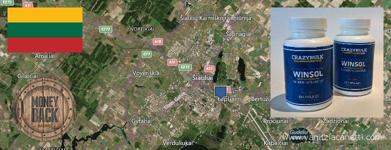 Where to Buy Winstrol Steroids online Siauliai, Lithuania