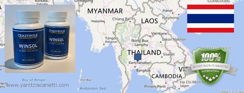 حيث لشراء Winstrol Steroids على الانترنت Thailand